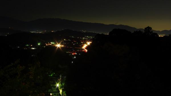 光の回廊岡寺夜景
