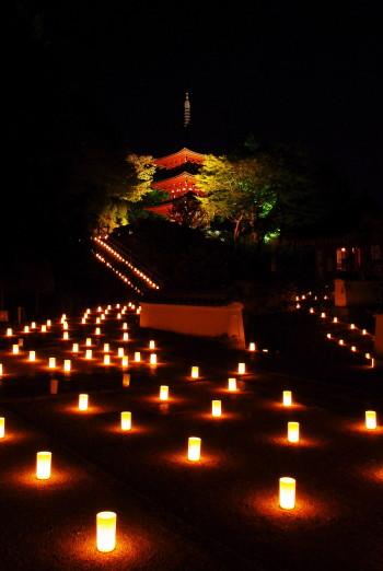 光の回廊岡寺
