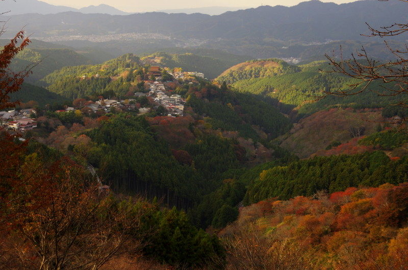 吉野山パノラマ