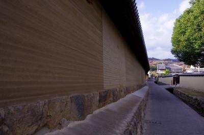 法隆寺 土壁