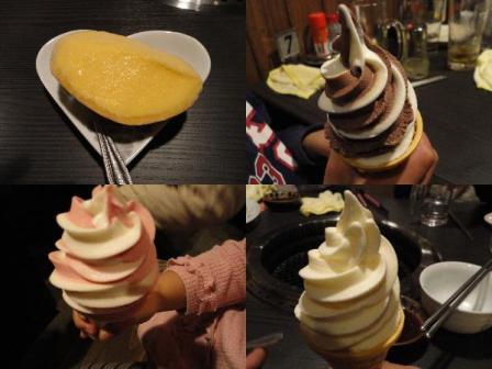 マンゴー&ソフトクリーム
