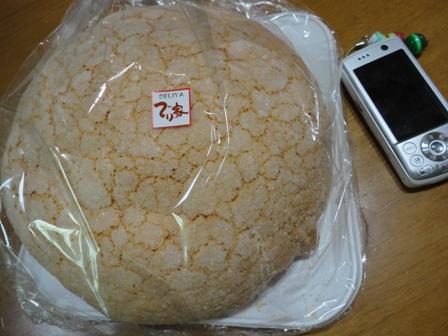 巨大メロンパン (1)