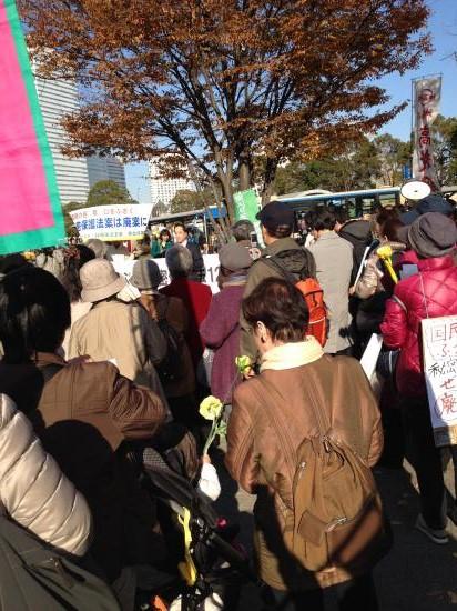20131201 秘密保護法反対横浜集会