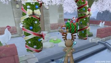 クリスマスな庭具1