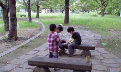 子供達は好き勝手遊んでますよ~♪