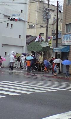 ちょっと!?大雨ですけど(@_@;)