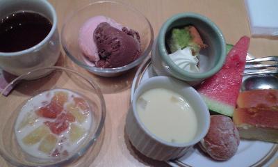 3皿目。。。デザートいっぱい☆☆