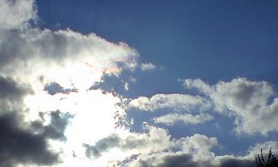 きれいに澄んだ空が気持ち良いです☆