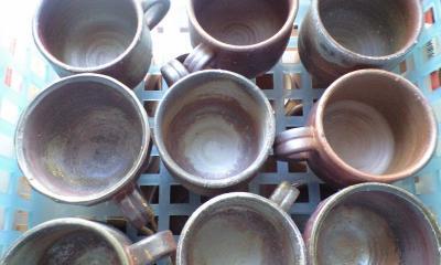 コーヒーカップ群