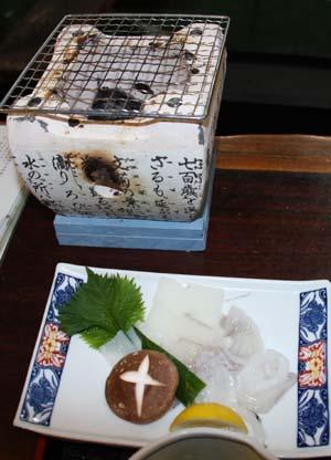 イカのゲソ焼き.ブログ