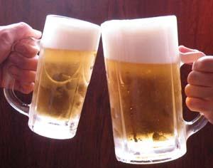 ビールで乾杯 ブログ