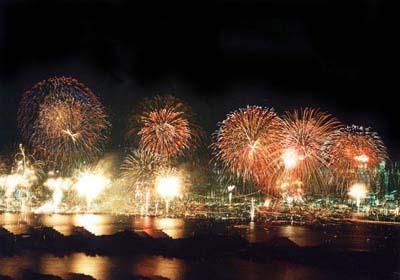 2013関門海峡花火1