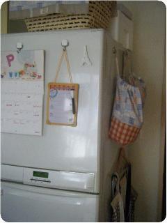 冷蔵庫まわり