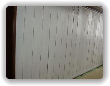 カウンター板壁