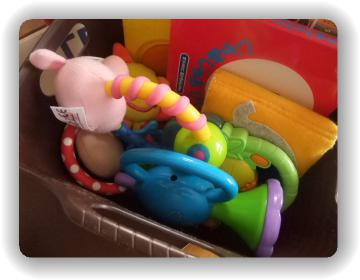 車用おもちゃ収納