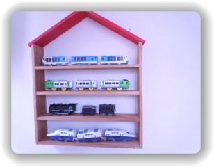 列車用飾り棚
