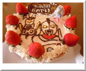 バースデーケーキ 2011.10.21