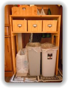 ゴミ箱収納