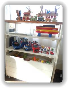 おもちゃ設置