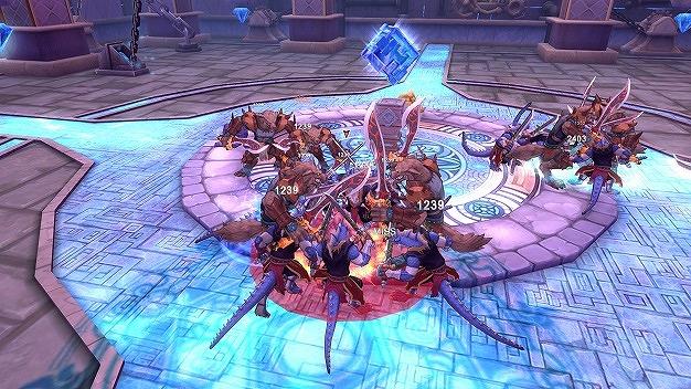 『 幻想神域 -Innocent World- 』遺跡内のクリスタルを襲いかかるモンスターから守ろう!