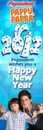 新年快楽!2012
