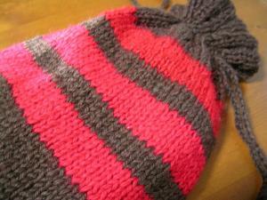 湯たんぽカバー毛糸