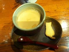 カフェの猫のクッキー