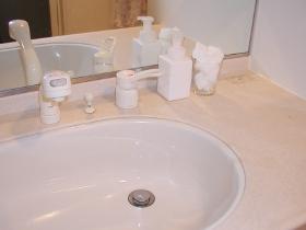 洗面所排水口掃除6