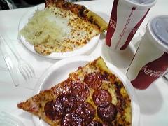 ピザ&コーラ