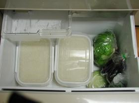 米収納野菜室