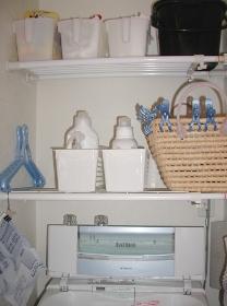 洗濯機上洗剤入れ 後