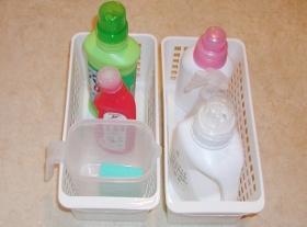 洗濯洗剤プラケース
