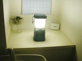代用ランプ