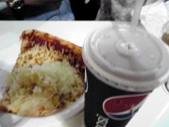 チーズピザ&ソーダ