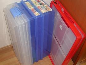 ビデオケースおもちゃ箱処分