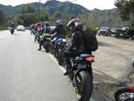 Malibu rock store parking