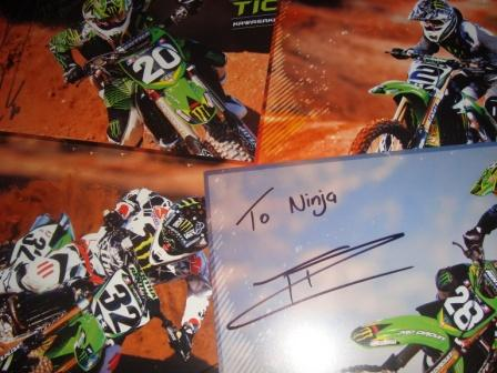 k super cross autograph