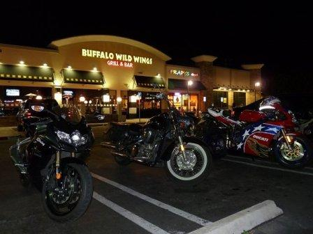 BWW bike night vtx1300