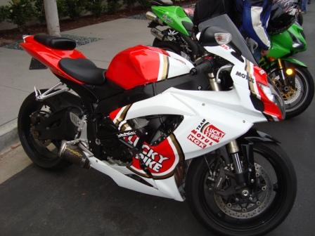 car coffee gsxr