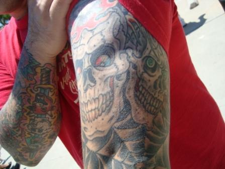 7-9 tatoo skull
