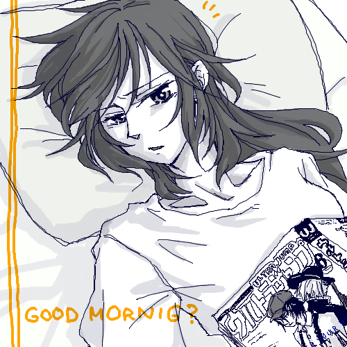 寝起き綾那さん