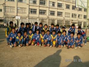 玉野FCと集合写真!