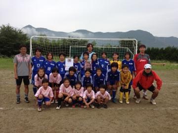 第18回長崎県少女サッカー選手権大会:優勝!!
