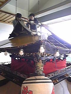 屋根修復・1
