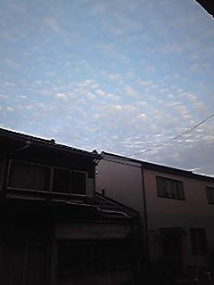 秋の雲?・1