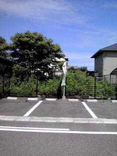 福太郎駐車場外観110714