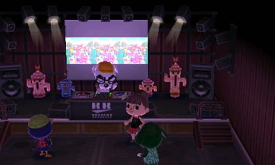 ライブでノリノリ♪
