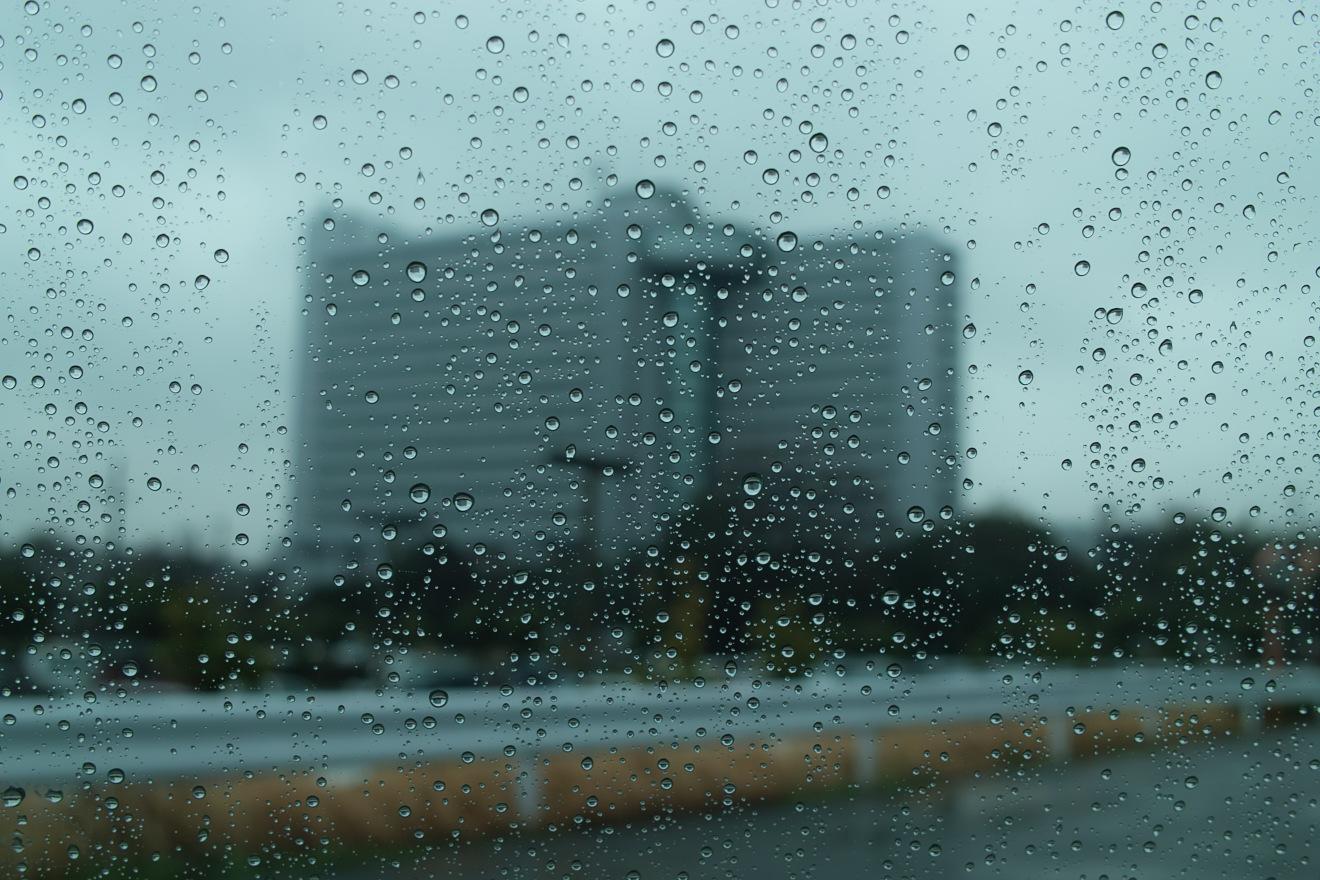 雨の日の寮