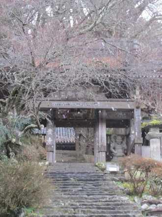 冬の富貴寺2