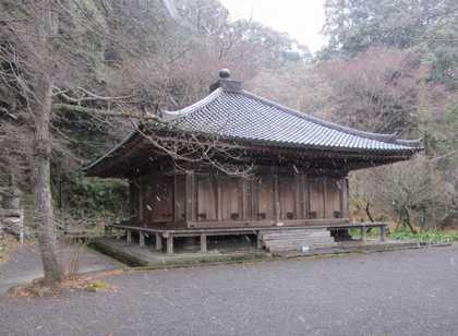 冬の富貴寺
